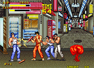 Burning Fight - Arcade/Neo Geo - Beat'n up - 2 Jogadores - SNK 1991