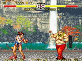 Fighter's History Dynamite - Neo Geo/Arcade - Luta - 2 Jogadores - Data East 1994