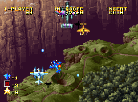Ghost Pilots - Neo Geo/Arcades - Shoot'n up - 2 Jogadores - SNK 1991