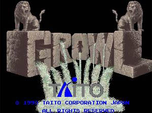 Growl - Beat'n up - 1-4 Jogadores - Arcade - Taito 1990